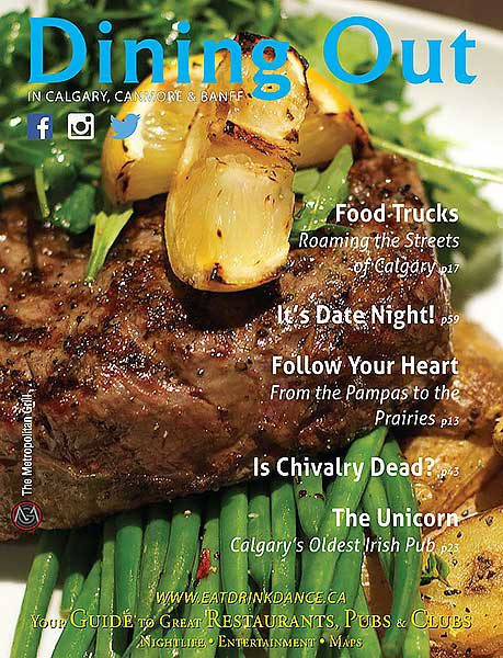 Dining Out Magazine, Summer 2014