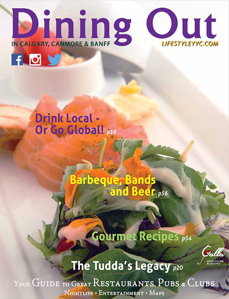 Dining Out Magazine, Summer 2015