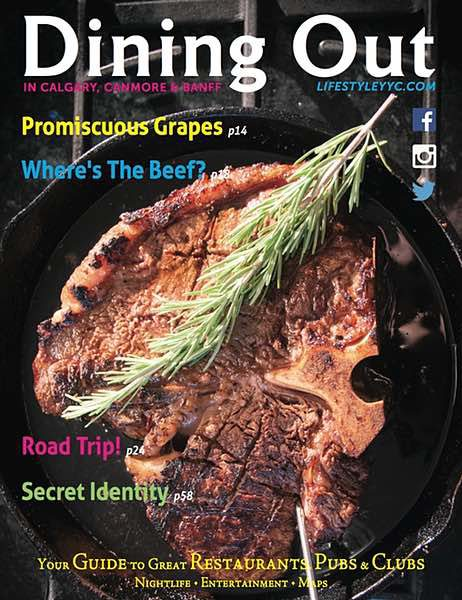 Dining Out Magazine, Summer 2016